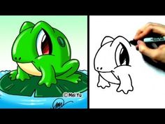 fun2draw animals   How to Draw a Frog
