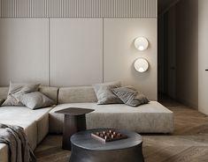 VANDER PARK PROJECT on Behance White Interior Design, Interior Decorating, Living Room Interior, Home Living Room, Living Room Inspiration, Interior Inspiration, Toilet Design, Master Bedroom Design, Luxurious Bedrooms