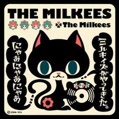 Japanese Album Cover: The Milkees  ザ・ミルキィズ 〜ミルキィズがやってきた。にゃぁにゃぁにゃぁ〜
