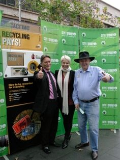 The City of Sydney is trialling reverse vending machines for people to deposit… Empty Plastic Bottles, Vending Machines, Clean Up, Sydney, Recycling, Community, Australia, Train, Canning