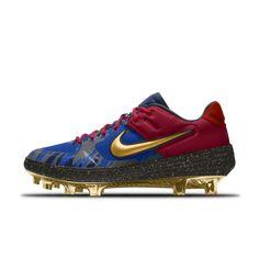 1f768e093cb Nike Alpha Huarache Elite 2 Low MCS Premium By You Baseball Cleat Baseball  Cleats