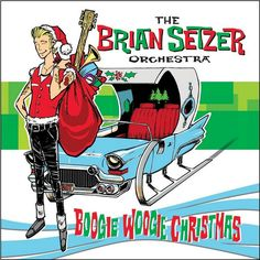 Brian Setzer Orchestra - Boogie Woogie Christmas on Snow-White Colored LP   Download