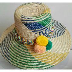 Compra Sombrero Wayuu Pompones online ✓ Encuentra los mejores productos  Sombreros y gorras mujer Wayuu en 9cd944ccb45