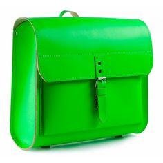 Schulranzen iSi neon-grün