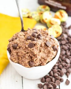Easy PB cup overnight oats by Chelsea's Messy Apron