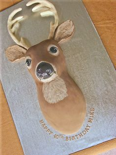 Deer Cake by springlakecake, via Flickr