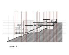 Imagem 36 de 42 da galeria de Casa no Bosque / grupoarquitectura. Corte