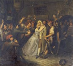 Claude-Noël Thévenin, Elisabeth de Cazotte sauve la vie de son père à la prison de l'Abbaye. (23 septembre 1792)