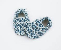 Rain+Organic+Cotton+Raindrop+Baby+Shoes+Eco+von+GrowingUpWild,+$28,00