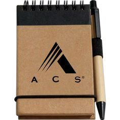 Here is the perfect promotional item to keep your valued clients constantly reminded of your stellar service - Recycled Jotter Pad with Pen. This handy 60 page jotter pad, made with a 100% recycled cover, features 70% recycled pages and a pen made with 50% recycled cardboard so you can assure recipients this is an eco friendly product! This is the perfect item to customize!  As low as $2/each. Contact Marcia for info: marcia@promosthatpop.com #ecogiveaways  #ecopromos #recycledpaper