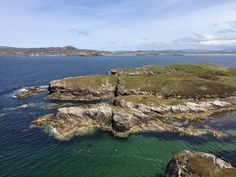 """Carl Stevenson on Twitter: """"View from Clonmass Head across Sheephaven Bay and Rosguill peninsula. Nice dyke in Dalradian metaseds in foreground"""""""
