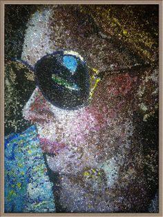 Self  Portrait by PortraitBeadShop on Etsy, $65.00
