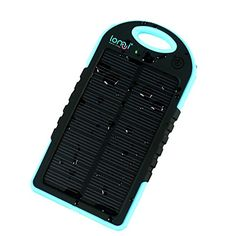 lomui® Solar Panel Charger 5000mAh Rain/Dirt/Shockproof Dual USB Port Portable Charger Backup External Battery Power Pack for iPhone 5S 5C 5 4S 4, iPad Air, Other iPads, iPods(Apple Adapters not Included), Samsung Galaxy S5 S4, S3, S2, Note 3, Note 2, Most Kinds of Android Smart Phones and Tablets,Windows phone, Gopro Camera and More Other Devices (Black and Blue) lomui® http://www.amazon.co.uk/dp/B00MAY80CE/ref=cm_sw_r_pi_dp_Ogcyub1TVT5KE