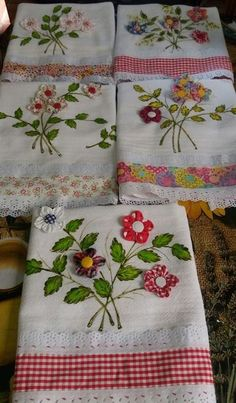 3 Spa Lavender spa pads, wrist pads SPA bond pads mini decor, hand embroidery, decor home decor, roo Hand Embroidery Flowers, Silk Ribbon Embroidery, Hand Embroidery Designs, Applique Designs, Embroidery Applique, Embroidery Patterns, Patchwork Quilt Patterns, Patchwork Bags, Quilting Projects