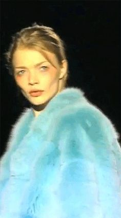 Jodie Kidd at Gucci by Tom Ford, Fall/Winter 1997.