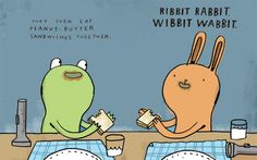 Ribbit Rabbit, by Candace Ryan. Illustrated by Mike Lowery.