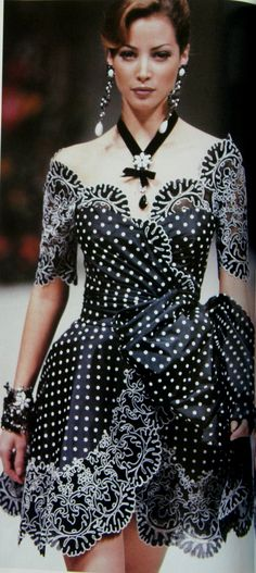 1992 Christian Lacroix Haute Couture Spring-Summer | The House of Beccaria#