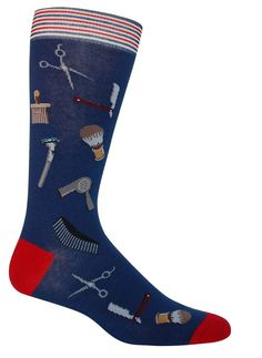For the more hautey man with a penchant for the finer things in life- this pair of colorful barbershop socks were made for you. With a close shave, a cool uppercut, and these unique socks, you are sur Barber Gifts, Barber Man, Barbershop Design, Barbershop Ideas, Barber Accessories, Barber Shop Quartet, Barber Shop Decor, Master Barber, Unique Socks