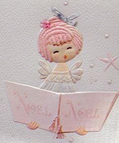 Angel carol singer