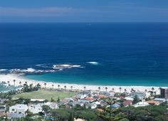 Camps Bay (behind Table Mountain) -Cape Town, South Africa