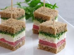 Finger Sandwiches Tea Sandwiches Beach Meals Crudite Appetizer Recipes Sandwich Recipes Appetizers For Party Party Snacks Snaks Party Food And Drinks, Snacks Für Party, Appetizers For Party, Appetizer Recipes, Snack Recipes, Party Sandwiches, Finger Sandwiches, Food Platters, Appetisers