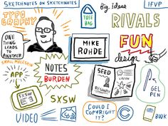 IFVP: Mike Rohde, via Flickr. by Lloyd Dangle