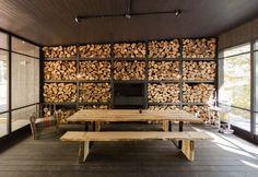 Chalet Forestier par Patrick Morand Architecte & Atelier Barda Architecture