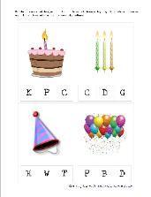 Birthday Printables (Homeschool Creations)