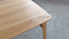 The Feynman table started as an experiment to create a structure that seemed to be born of the bevel of the top. This solution proved to be very efficient in structuring the whole piece while giving character to the table. Experiment, Industrial Design, Behance, Create, Table, Top, Character, Furniture, Home Decor