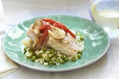 Snapper with Fennel, Onion and Tomato