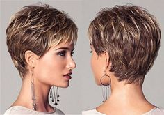 Pixie Cuts: 13 Hottest Pixie Hairstyles and Haircuts for Women pixie haircut - HairStyles Short Hairstyles For Women, Cool Hairstyles, Hairstyles Haircuts, Glasses Hairstyles, Hairstyle Ideas, Medium Hairstyles, Short Hair Cuts For Women Easy, Feathered Hairstyles, Bouffant Hairstyles