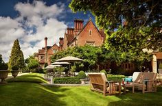 Alexander House Hotel in West Sussex Romantic Weekend Breaks, Romantic Breaks, Country House Hotels, Spa Offers, Romantic Getaways, Bed And Breakfast, Wonderful Places, Outdoor Spaces, Mansions