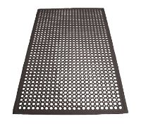 Winco Floor Mat, 3′ x 5′ x 1/2″ thick, anti-fatigue, beveled edges, rubber, black (call for pallet rate) RBM-35K 1 Janitorial Supplies, Floor Mats, Cleaning Supplies, Pallet, Flooring, Bar, Shed Base, Cleaning Agent, Palette