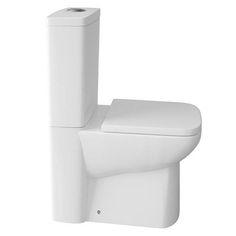 Genova Modern Short Projection 585mm Toilet with Soft Close Seat £199