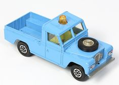 Corgi Pre-Production #438 Land Rover. Pale blue