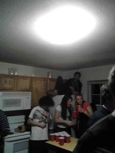 Going to a party and hanging out on the fridge: | The 24 Most Hipster Things That Have Ever Happened