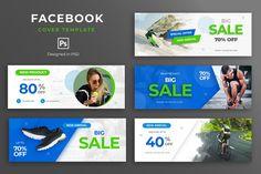 Social Media Banner, Social Media Template, Social Media Graphics, Facebook Template, Facebook Banner, Creative Facebook Cover, Facebook Timeline Covers, Invoice Design, Fashion Sale