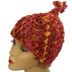 Carnival Kaleidoscope #Crochet #Hat is in this Etsy treasury: http://www.etsy.com/treasury/NzE1NTg3NnwyNzIzMDk4Njc5/orange-not-just-a-fruit