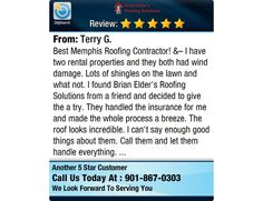 Best Memphis Roofing Contractor! – I have two rental properties and they both had wind...