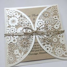 Affordable Wedding Invitations,Wholesale Laser Cut Wedding Invitations,Wholesale Laser Cut Invitation,Custom Wedding Invitations at 100 INVIATIONS Affordable Wedding Invitations, Laser Cut Wedding Invitations, Laser Cut Invitation, San Diego Wedding, Cut Flowers, Laser Cutting, Special Day, Gate, Decorative Boxes