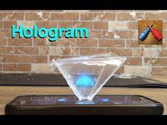 Hologram Piramit Yapımı (Türkçe) , Kendin Yap