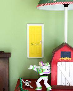 Tooth fairy door, or fairy door.  So cute!