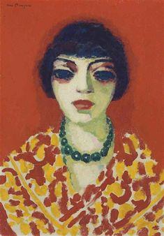 Kees van Dongen - La femme au collier vert, 1906,..