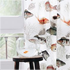 Tackle (guell-lamadrid.com): as a tribute to marine life #cotton #seaside #home #interior #interiordesign #home #homedesign #homedecor #decor #decoration #homesweethome #lovely #cute #textiles #textildesign #fabric #pattern #texture