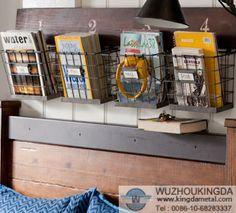 wire mesh wall mount magazine rack,wire mesh wall mount magazine rack supplier-Wuzhou Kingda Wire Cloth Co. Ltd
