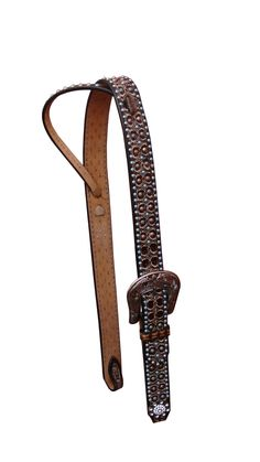 Shop Bar H - #horsetack Excellent Quality at Affordable Prices Brown Two Tone w/ Copper and Turquoise Dots | Bar H Equine