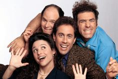 On May the TV series Seinfeld aired its final episode. See how much you know about the iconic sitcom by answering a few trivia questions. Seinfeld Elaine, Jerry Seinfeld, Best Sitcoms Ever, Comedy Tv, Great Tv Shows, Classic Tv, Best Tv, Funny People, Favorite Tv Shows