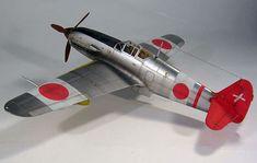 Nakajima Ki-61 by Jamie Haggo (Hasegawa 1/48)