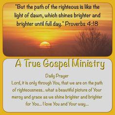 Daily Scripture and Prayer #atruegospelministry