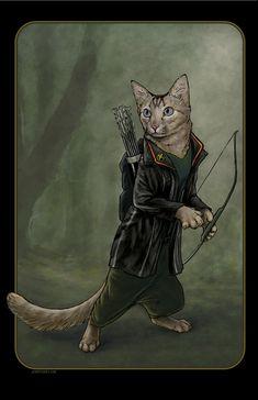 Catniss by Jenny Parks